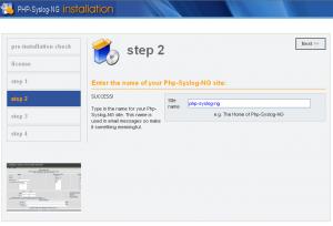 インストール画面:step2